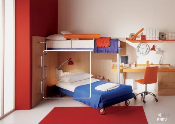 Кровать-чердак 122