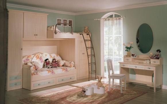 Кровать-чердак 123