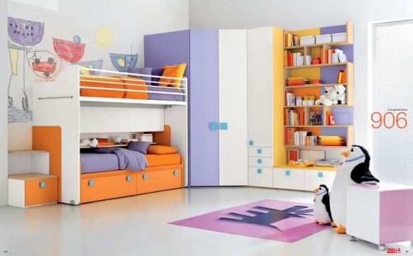 Кровать-чердак 126