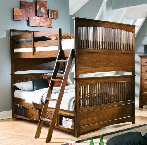 Кровать-чердак 44
