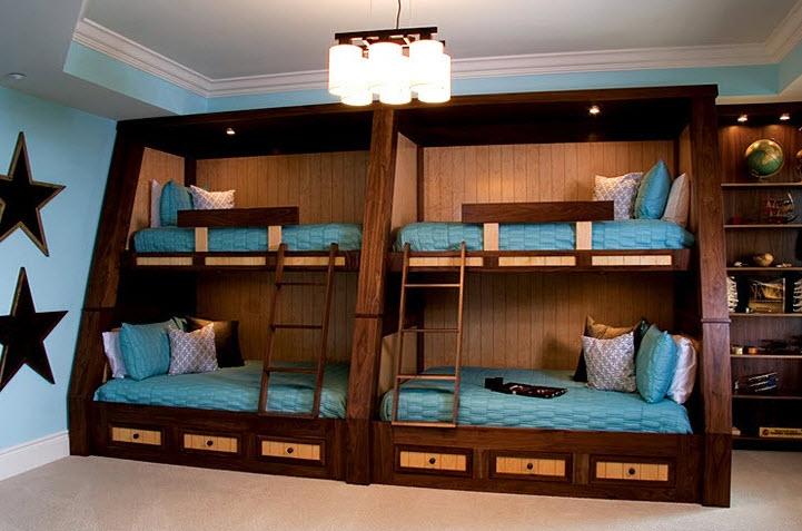 Кровать-чердак 48