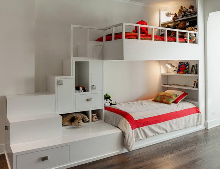 Кровать-чердак 50