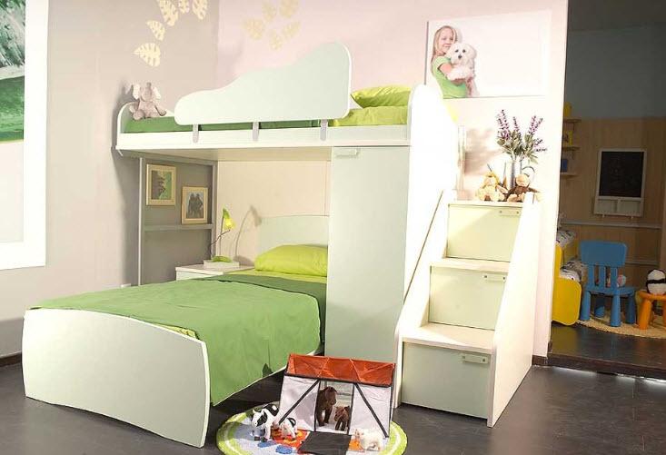 Кровать-чердак 56