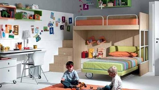 Кровать-чердак 70
