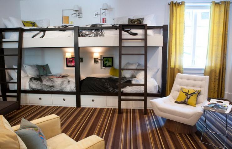 Кровать-чердак 75