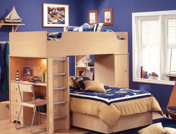 Кровать-чердак 85