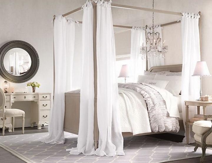 Спальня для девочки в классическом
