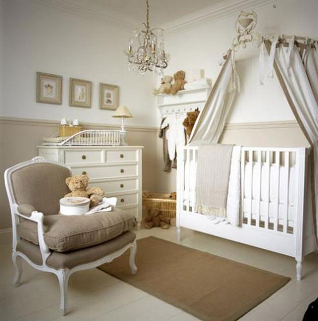 Дизайн интерьер комната для младенца