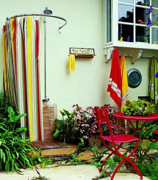 Как сделать садовый душ