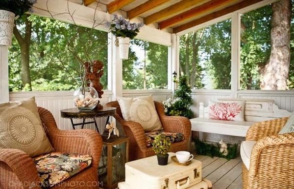 Дизайн веранд для дома