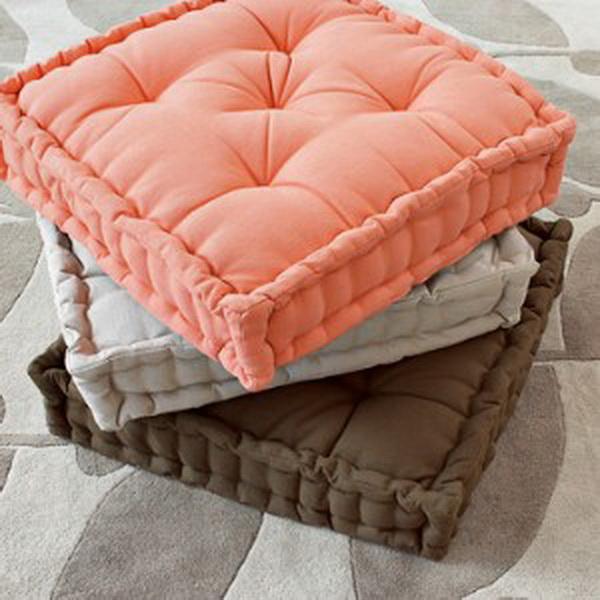 Подушка для сиденья своими руками