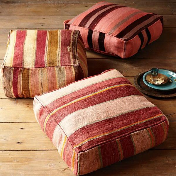 Как сшить прямоугольную подушку для дивана