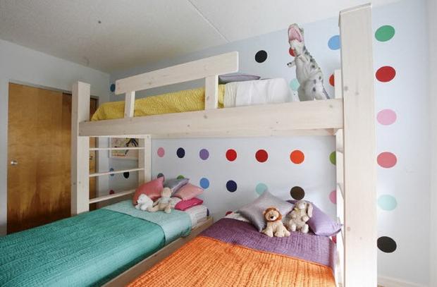 Детская комната для троих