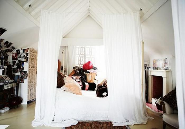 Как сделать балдахин над кроватью своими руками