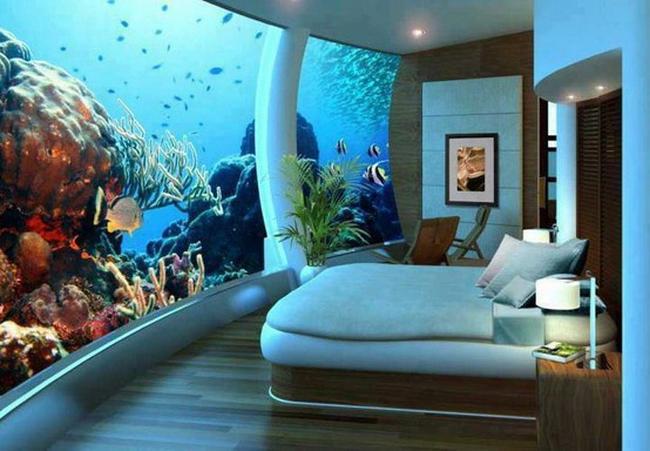 Kinderzimmer als aquarium