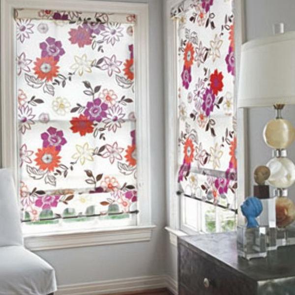 Рулонные шторы на окна - 66 вариантов - фото.