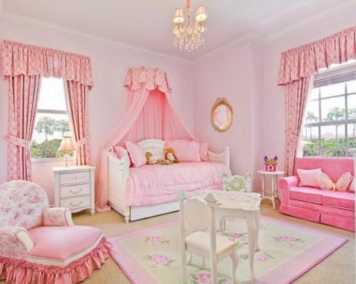 спальня фото для девочки