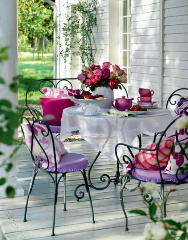 Цветы в стиле прованс фото