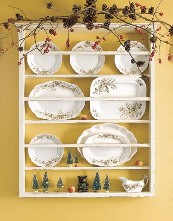 Полка под декоративные тарелки