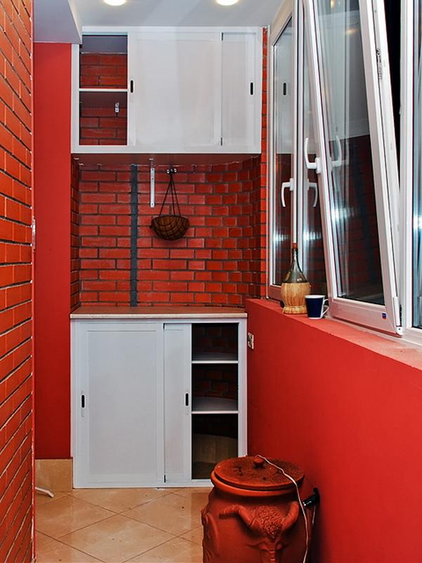 Пластиковые шкафы на балкон - всё о балконе.