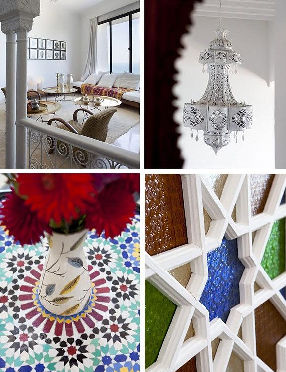 Марокканский стиль интерьера - 100 фото как в сказке - идеи .