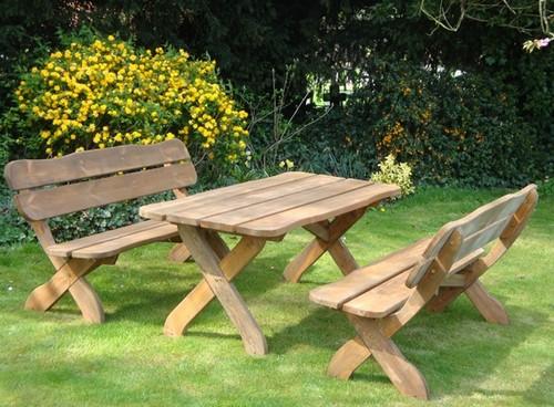 Скамейки и столы из дерева своими руками видео