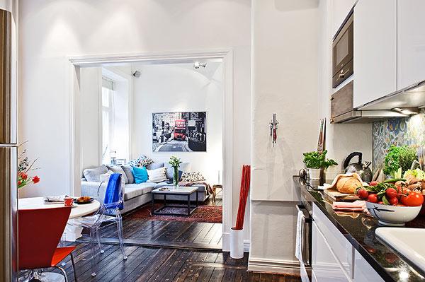 Интерьер маленькой квартиры