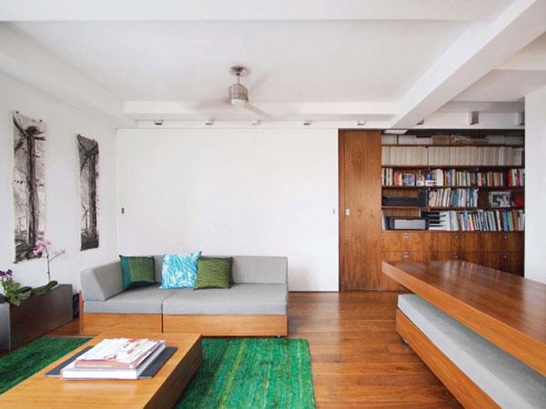 Маленькая квартира-трансформер