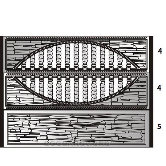 Веранда к дому 30 лучших фото идей на любой вкус: Железобетонный декоративный забор