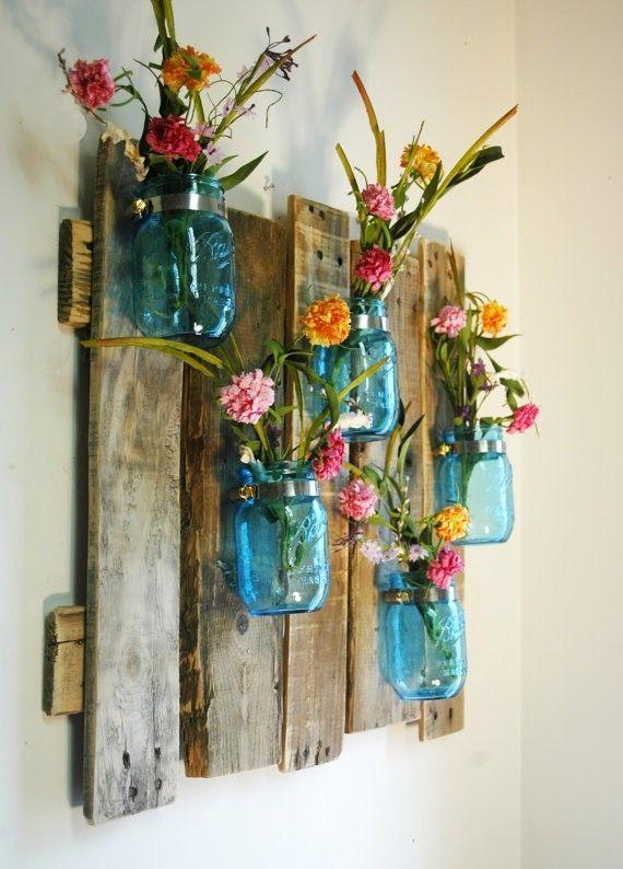 Цветы на кухне - фото