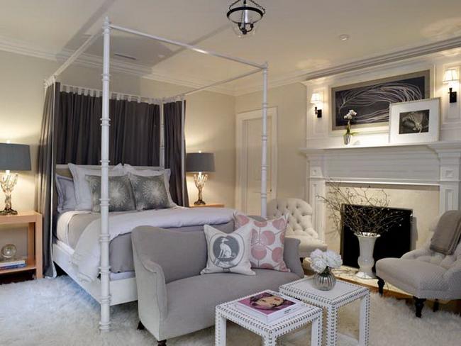 stunning boutique hotel bedroom | Светло-серый цвет в интерьере