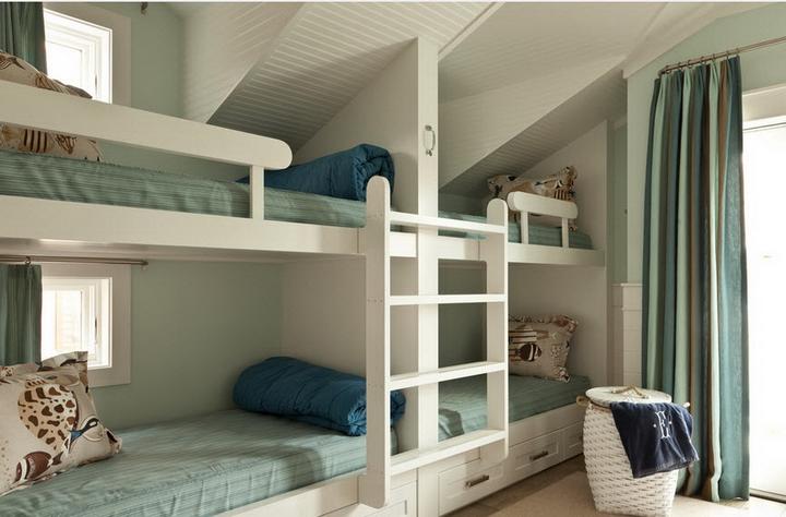 Детская комната для четверых детей