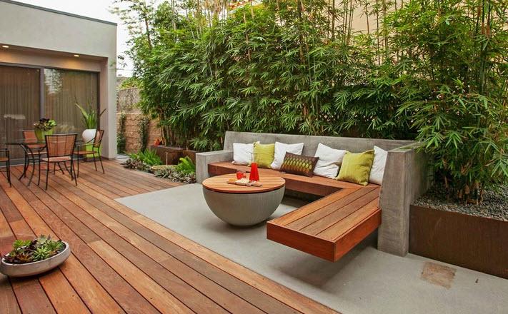 Скамейки из дерева простое решение