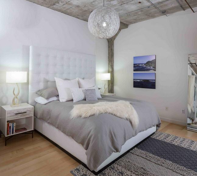 Спальни минимализм фото дизайн