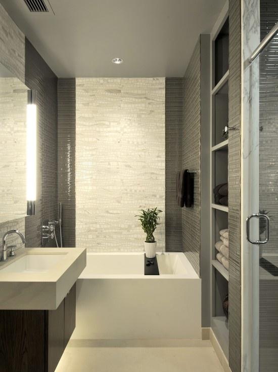Что делает ванную современной? 50 Фото