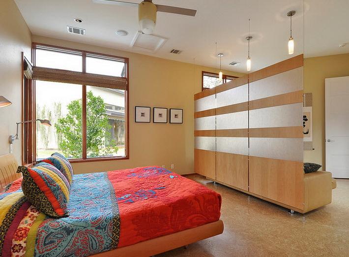 Перегородка для зонирования комнаты