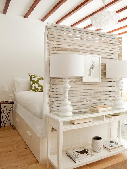 Перегородки деревянные для зонирования