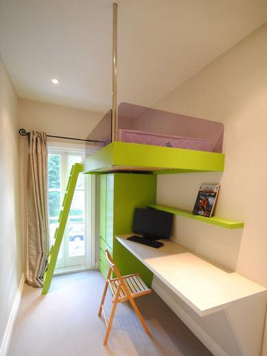 Дизайн детской маленькой комнаты фото