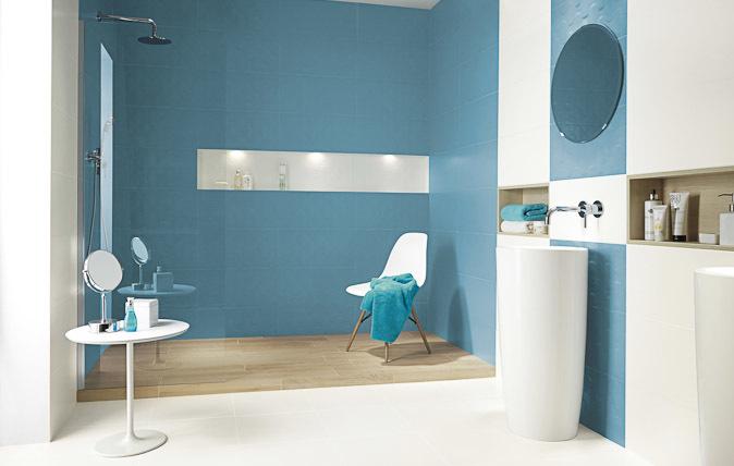 Плитка в ванную комнату. Фото
