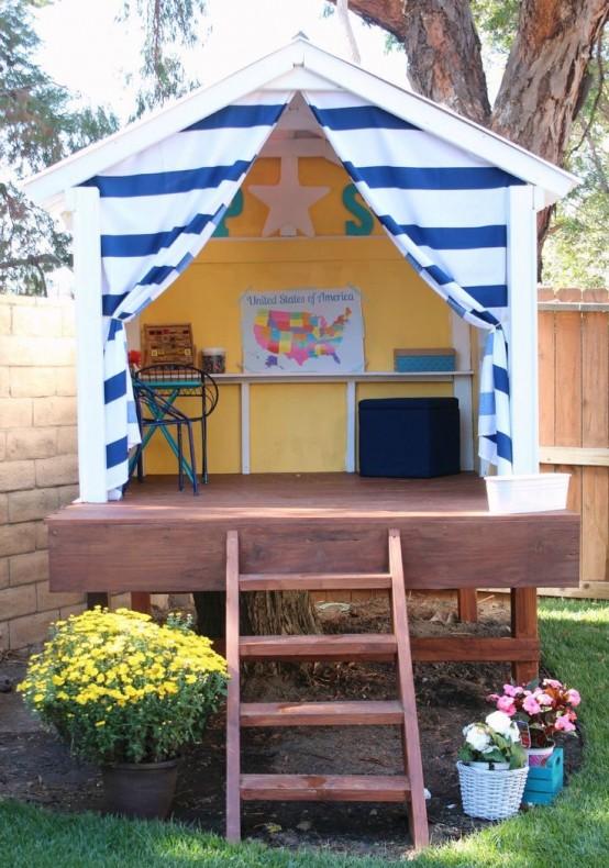 домик для детей своими руками фото