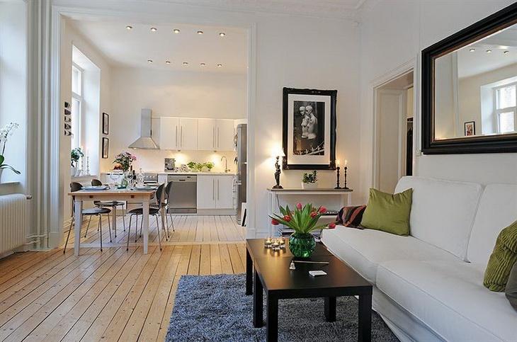 Варианты планировки однокомнатной квартиры