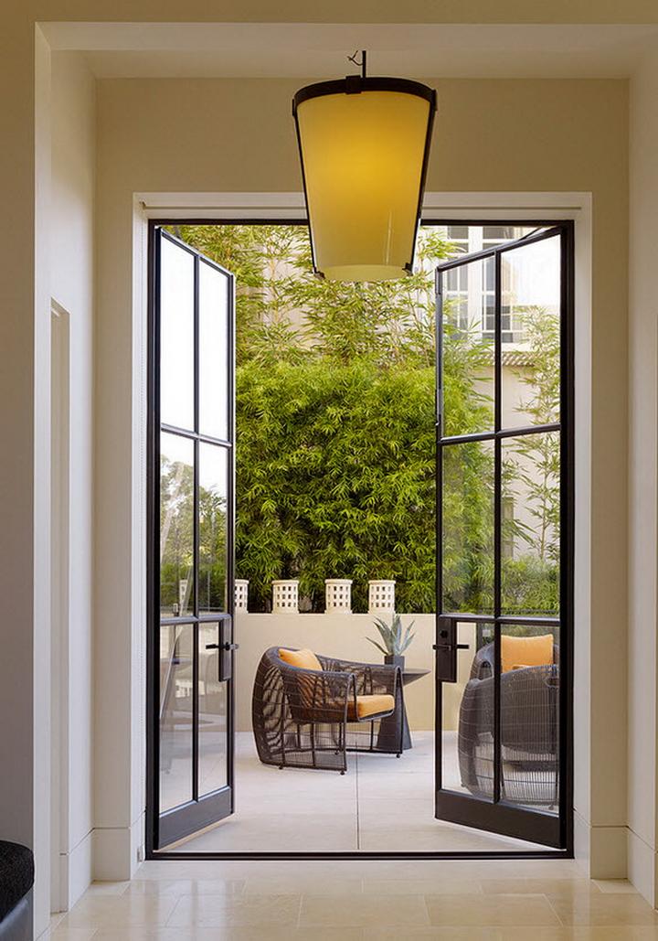 Французские окна - это шик! 75 фото в интерьере.