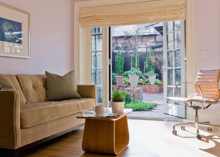 Французские окна фото