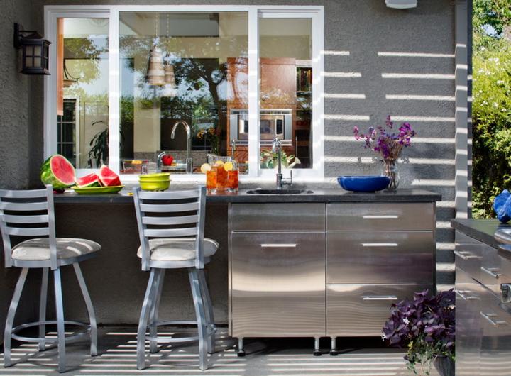 кухня с окном
