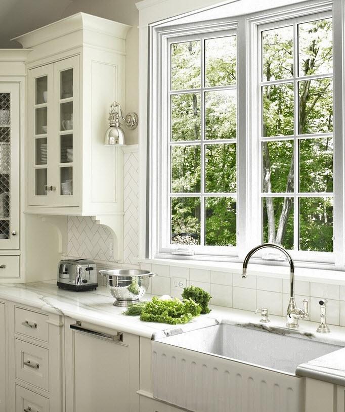 севере кухни у окна фотогалерея стрелковое место обычно
