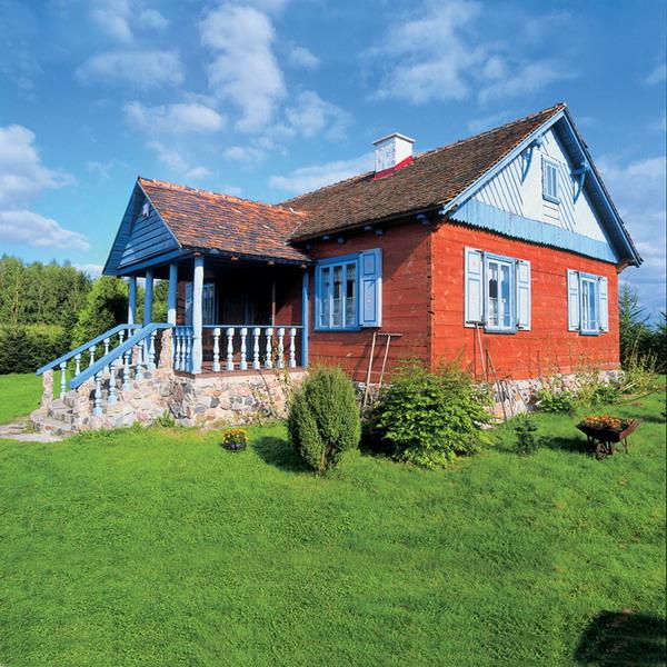 Деревенский домик в польском стиле
