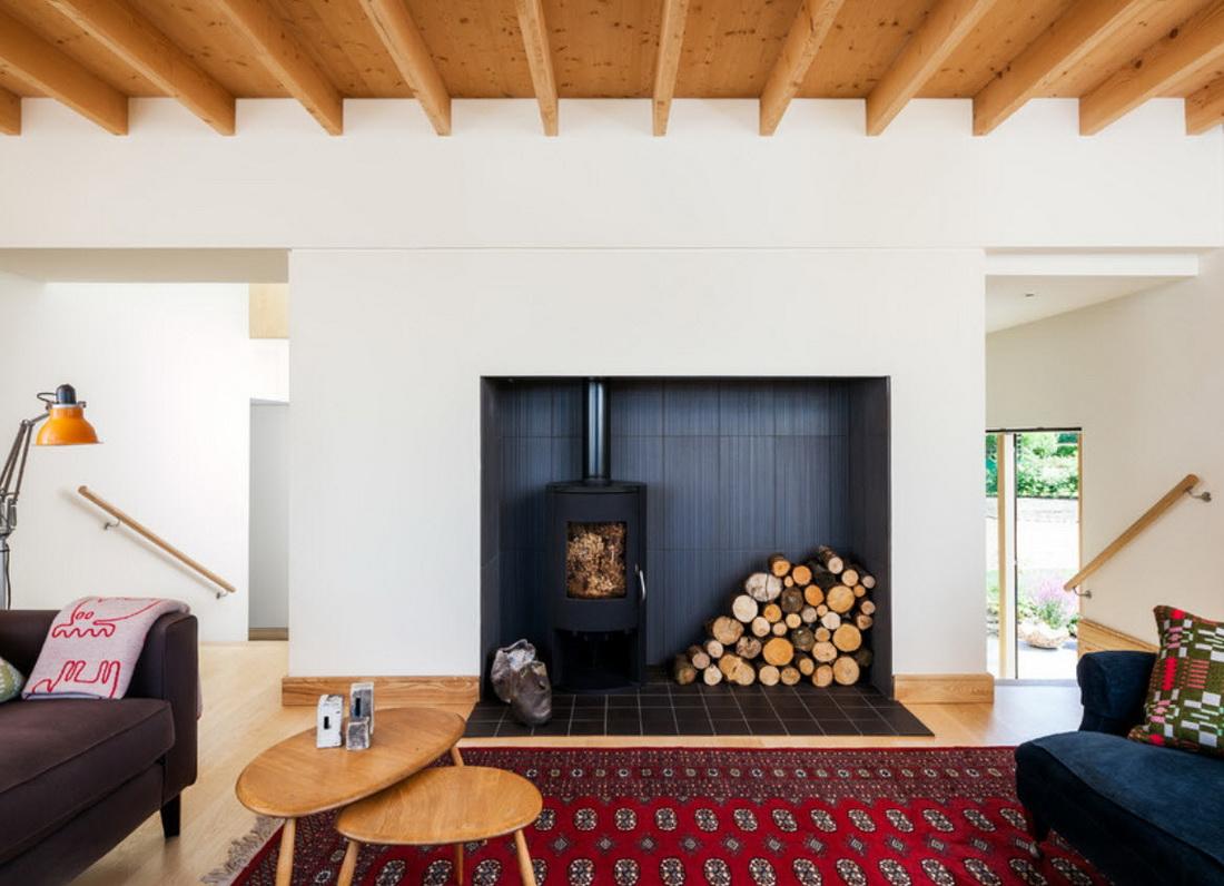 Интерьер частного дома в скандинавском стиле фото