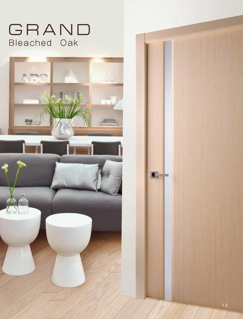 Беленый дуб. Двери. Фото