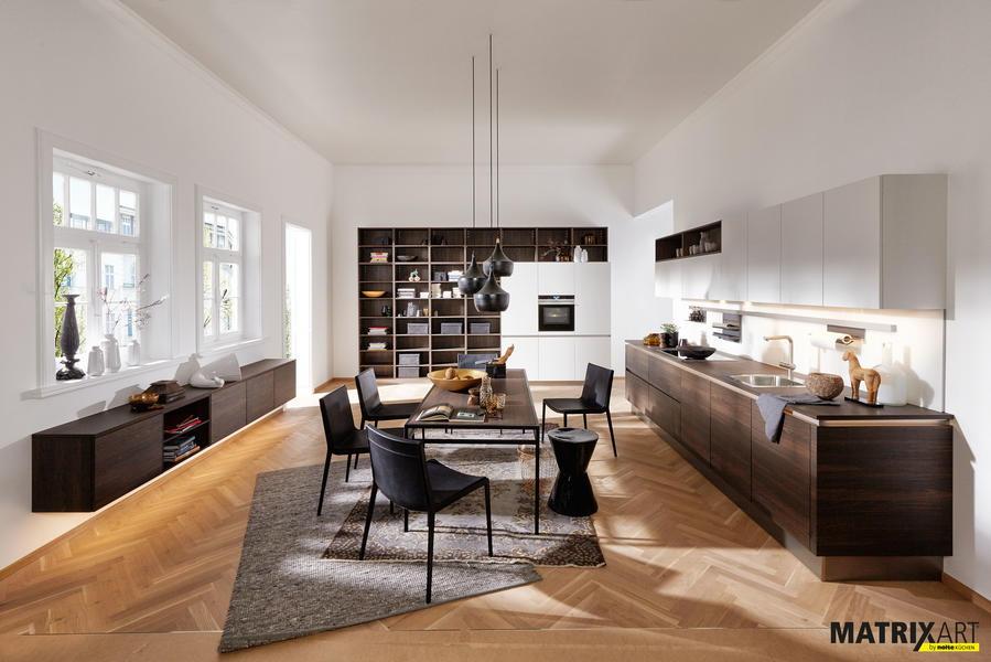 Moderne Kuchen Modularer Wohnbereich