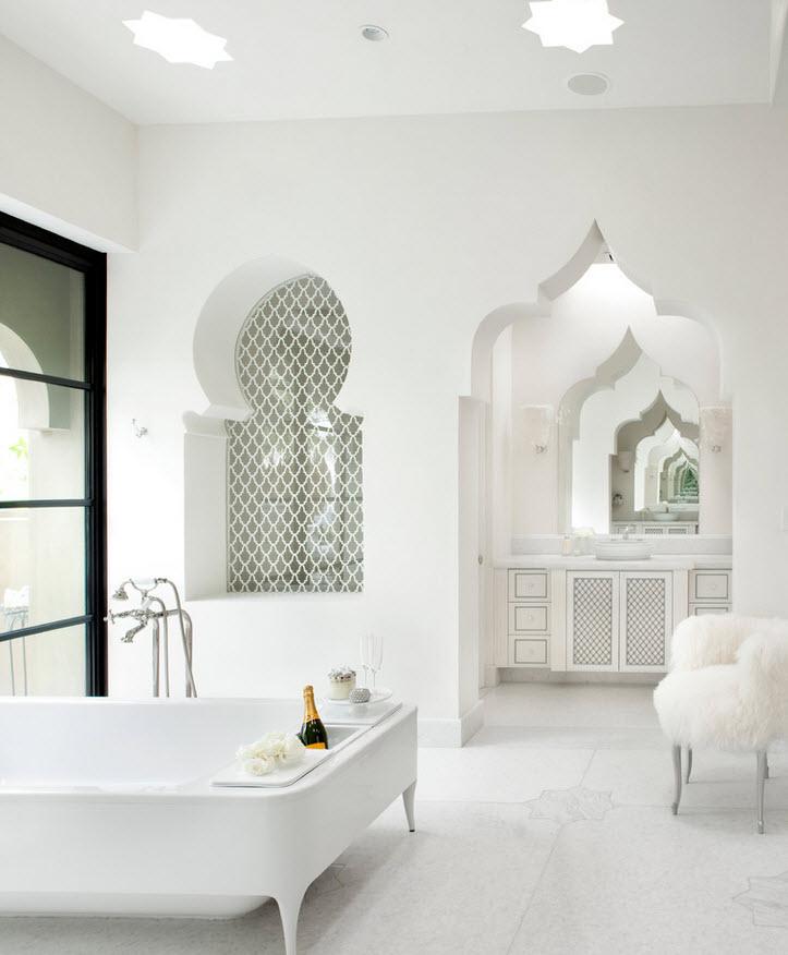 Bathroom tile mosaic designs  Inspirational Interior Design decor Picture Idea for Your Modern